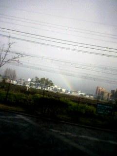 虹だ虹だ!