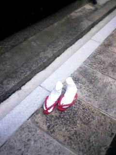 シュールな足袋