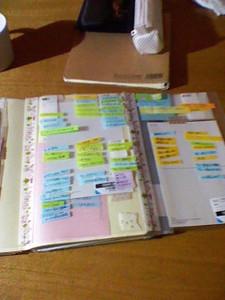ジブン手帳(やることシート3つ折り)