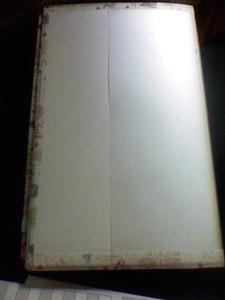 ジブン手帳裏表紙